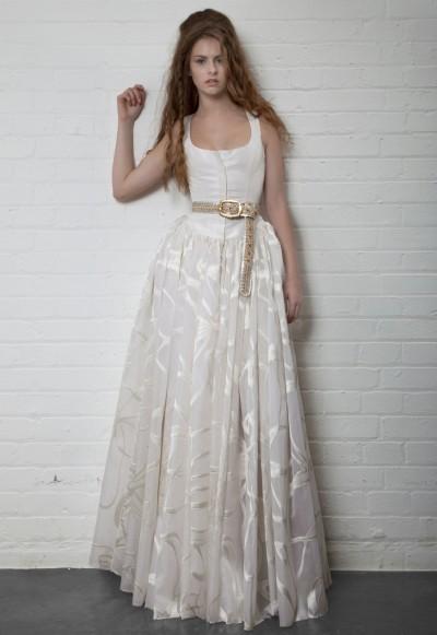 El d a de tu boda blanca y original va la novia blog for Novias originales 2017